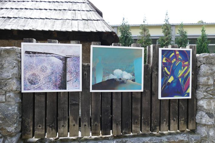Supporting the Borovica Art Colony exhibition