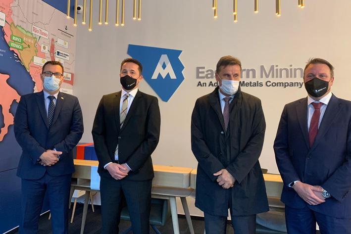 The Prime Minister of the Federation of BiH visits Eastern Mining