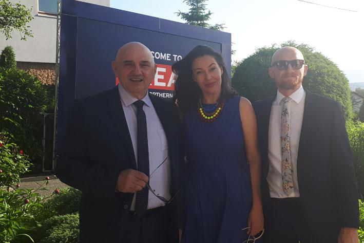 Eastern Mining sponsors The Queen's Birthday Party at the British Embassy, Sarajevo